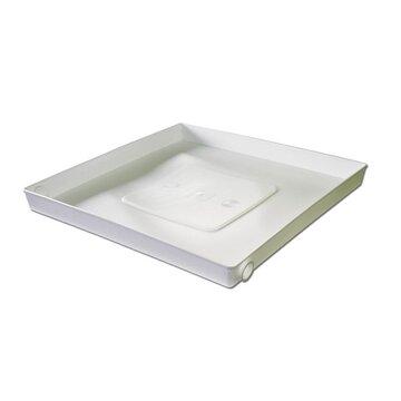 universal bodenwanne auffangbeh lter 65x65cm waschmaschine sp lmaschine 29 90. Black Bedroom Furniture Sets. Home Design Ideas