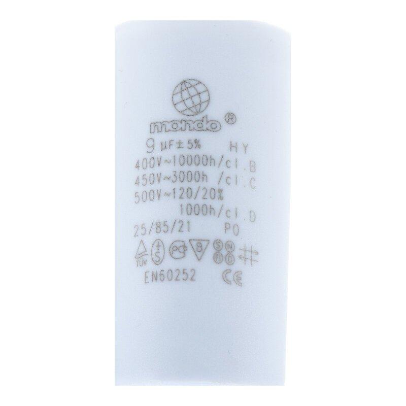 für elektrische Hausgeräte 25,00µF 450V Anlauf Kondensator mit Steckfahnen u.a