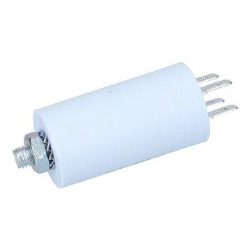AMP-Steckfahnen Kondensator Anlaufkondensator Motorkondensator 6,3 µF uF 450V