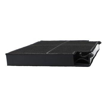 Kohlefilter 2St EFF70 195x139mm Dunstabzugshaube passend wie Zanussi 9029793552