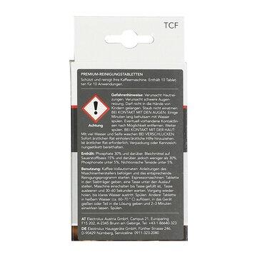 10 Reinigungstabletten Tabs CaFamosa Kaffeevollautomat Espressmaschine  Electrolux AEG 950078803/0 899663910480