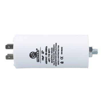 für elektrische Hausgeräte 6,3mm AMP Steckfahnen u.a 4,00µF 450V Kondensator