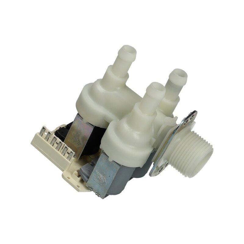 Universal Magnetventil Ventil 3-fach 90° 11,5mmØ Waschmaschine Spülmaschine